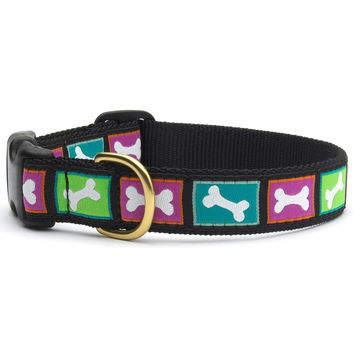 Bright Bones Dog Collar