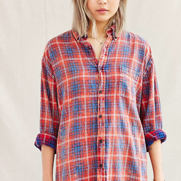 Urban renewal vintage acid wash flannel from urban outfitters for How to wash flannel shirts