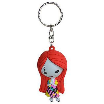 Licensed Official New Nightmare Before Christmas Sally Figural Keyring Keychain