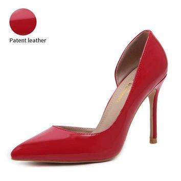 Fabulous High Heel Shoe in Various Materials (Patent Leather | Microfiber | Suede)