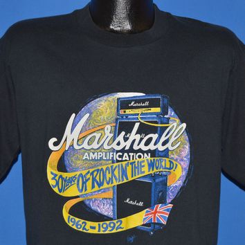 90s Marshall Amplification Rockin' The World t-shirt Large