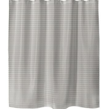 SNAZZY Shower Curtain By Tiffany Wong