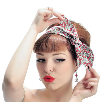 Rock Rockabilly 50s Pin up headscarf