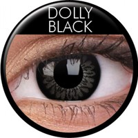 ColourVue Dolly Black Colour Contacts