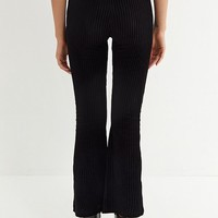 UO Cassidy Ribbed Velvet Flare Pant | Urban Outfitters