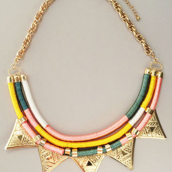 Magical Celeste Statement Necklace