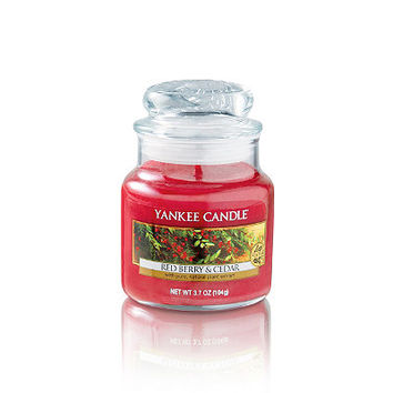 FREE Small Red Berry & Cedar Scented Tumbler w/any $30 Yankee Candle purchase