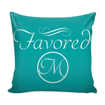 Initial Favored Pillow cover