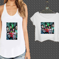 Cool Pierce the Veil Band For Woman Tank Top , Man Tank Top / Crop Shirt, Sexy Shirt,Cropped Shirt,Crop Tshirt Women,Crop Shirt Women S, M, L, XL, 2XL*NP*