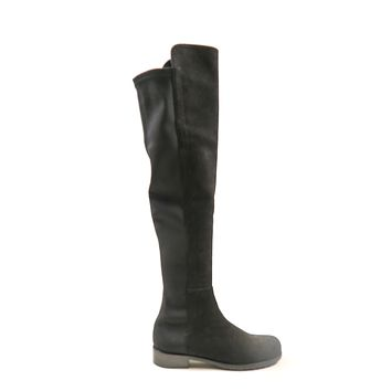 Stuart Weitzman Over the Knee 50/50 Suede Boots US5 EU35 Black