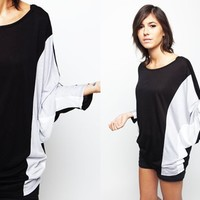 Dori Bat Sleeve Top