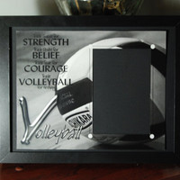 8x10 Volleyball Inspired Framed Photo by SapphireCustomPhotos