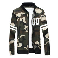 Camouflage Mens Bomber