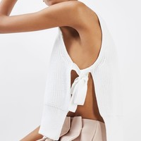 Sleeveless Tie Side Tank Top | Topshop