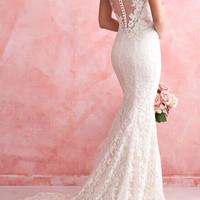 Stunning Lace Mermaid Wedding Dresses  Bridal Gown For Garden Wedding Dress Bridal Gown