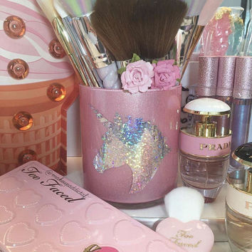 Unicorn Makeup Brush Holder