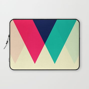 Sawtooth Laptop Sleeve by Trevor May