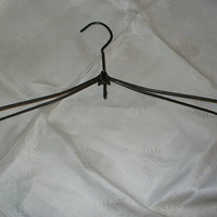 Vintage Folding Metal Coat Hanger by CheshiresFantasy on Etsy