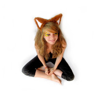 Fuzzy Fox Ears Headband