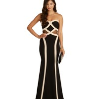 Reyna-black Prom Dress