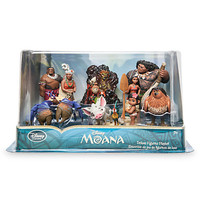 Disney Store Moana 10pcs Playset Cake Topper New with Box