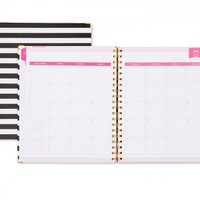 Day Designer Rugby Stripe Weekly/Monthly 8 x 10 Planner July 2015 - June 2016