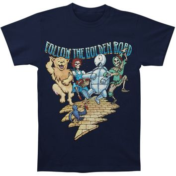 Grateful Dead Men's  Golden Road T-shirt Navy
