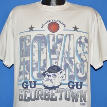 90s Georgetown Hoyas Basketball t-shirt Extra Large