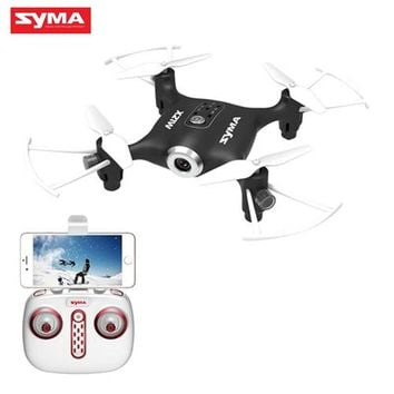 SYMA X21W WIFI FPV With 720P Camera APP Controller Altitude Hold Mode RC FPV Quacopter Drone Helicopter Toys RTF