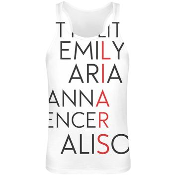 Pretty Little Liars  Sublimation Tank Top