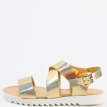 Bamboo Rocket-03 Hologram Sandals