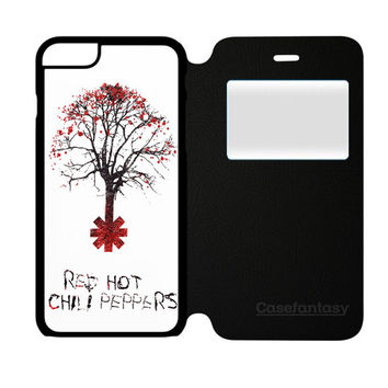 Tree Of Red Hot Chili Peppers iPhone 6/6S Flip Case | casefantasy