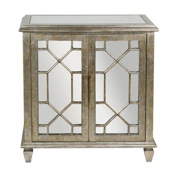 Panaro Golden Bronze Accent Cabinet