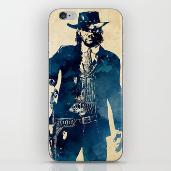 John Marston iPhone Skin by naumovski