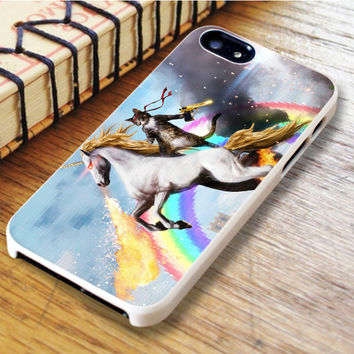 Cat Riding Unicorn iPhone 6 | iPhone 6S Case