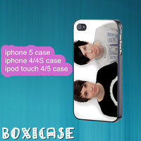 Dan and Phil, Lovely--iphone 4 case,iphone 5 case,ipod touch 4 case,ipod touch 5 case,in plastic,silicone.cute iphone 5 case,cute ipod 5.
