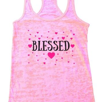 BLESSED Burnout Tank Top By Womens Tank Tops