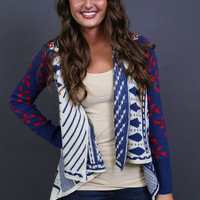 Land of the Free {Printed Cardi} | The Rage