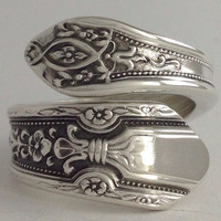 Size 7 Vintage Sterling Silver Towle Spoon Ring