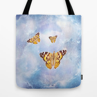 Butterfly Heaven Tote Bag by Laureenr