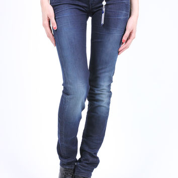 G-Star Raw 3301 Skinny Comfort Matra Denim Dark Aged (Made In Italy)