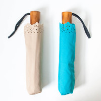 Soft Eyelet Auto-Open Umbrella