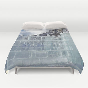 House of ice Duvet Cover by abeerhassan