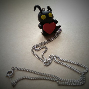 Kingdom Hearts Heartless Inspired Necklace