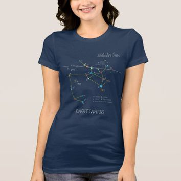 Constellation SAGITTARIUS unique, impressive T-Shirt