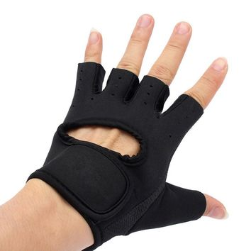 Running Gloves Half Finger Motorcycle Bike Bicycle Riding Cycling Sports Gloves GEL Pad Size:S M L XL