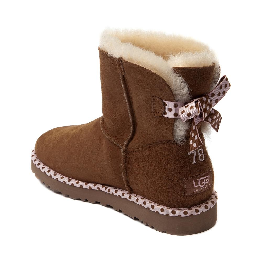 womens ugg bailey bow mini boot from journeys. Black Bedroom Furniture Sets. Home Design Ideas