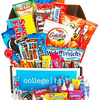 Classic Snacks Care Package, snack gift, college assortment variety pack bundle (30 Count)