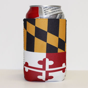 Maryland Flag / Koozie