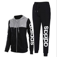 Adidas women's casual sports suit